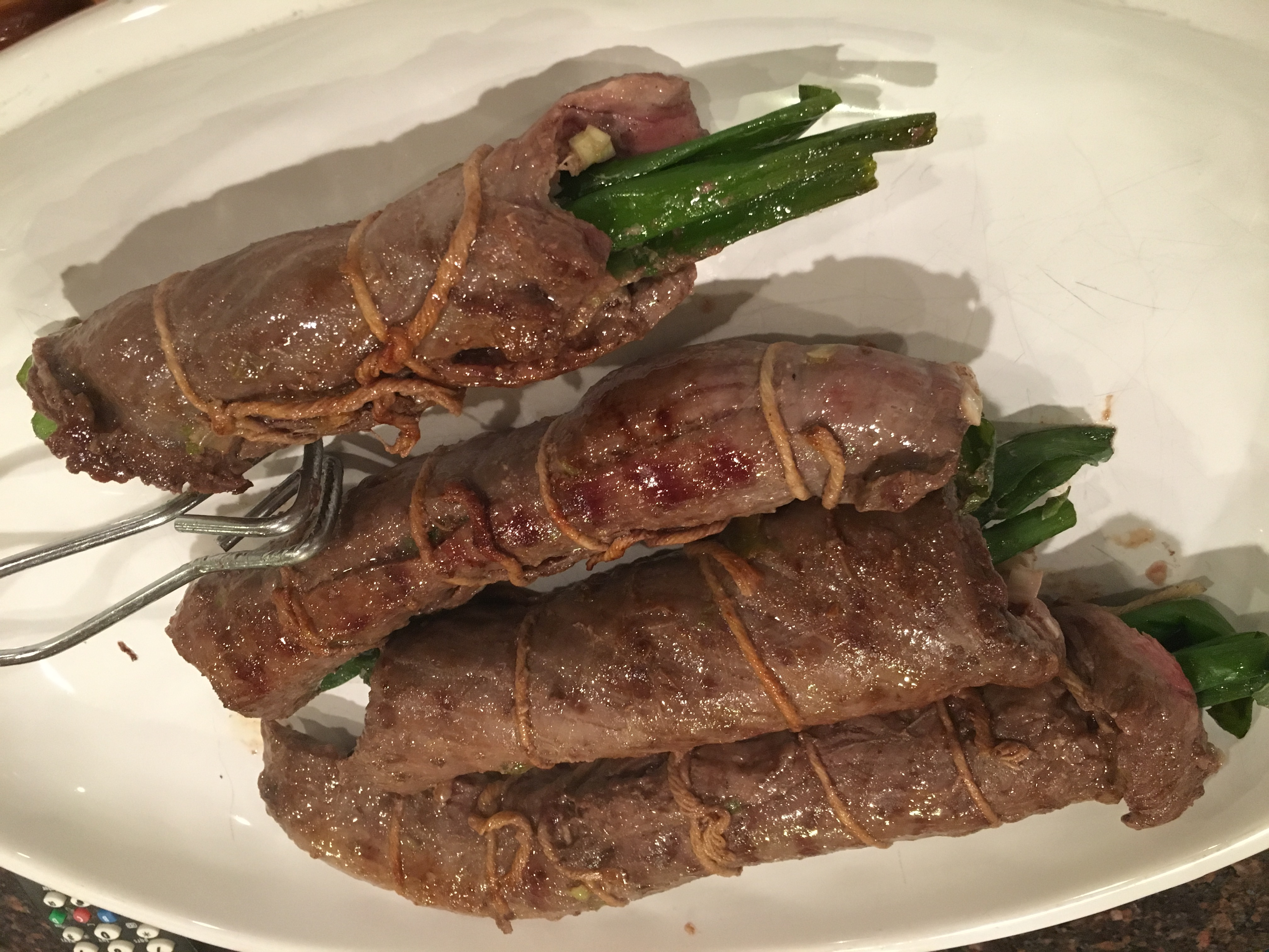 Beef Negamaki