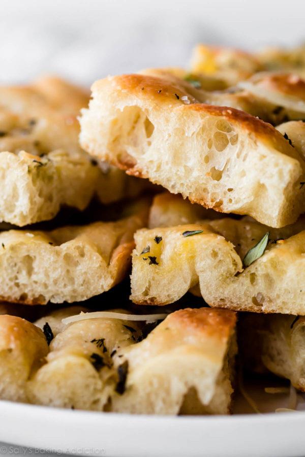 Garlic Herb Foccatia