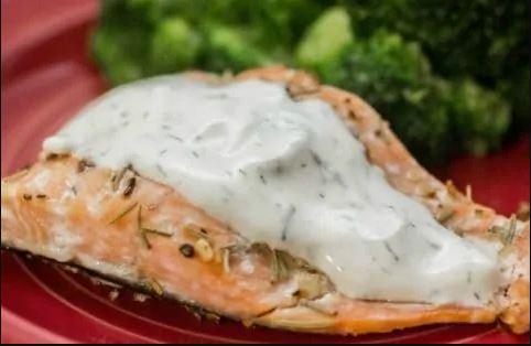 Keto Rosemary Dill Salmon