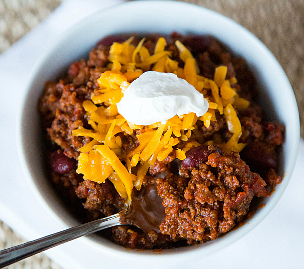 Mike's Simple Sunday Chili