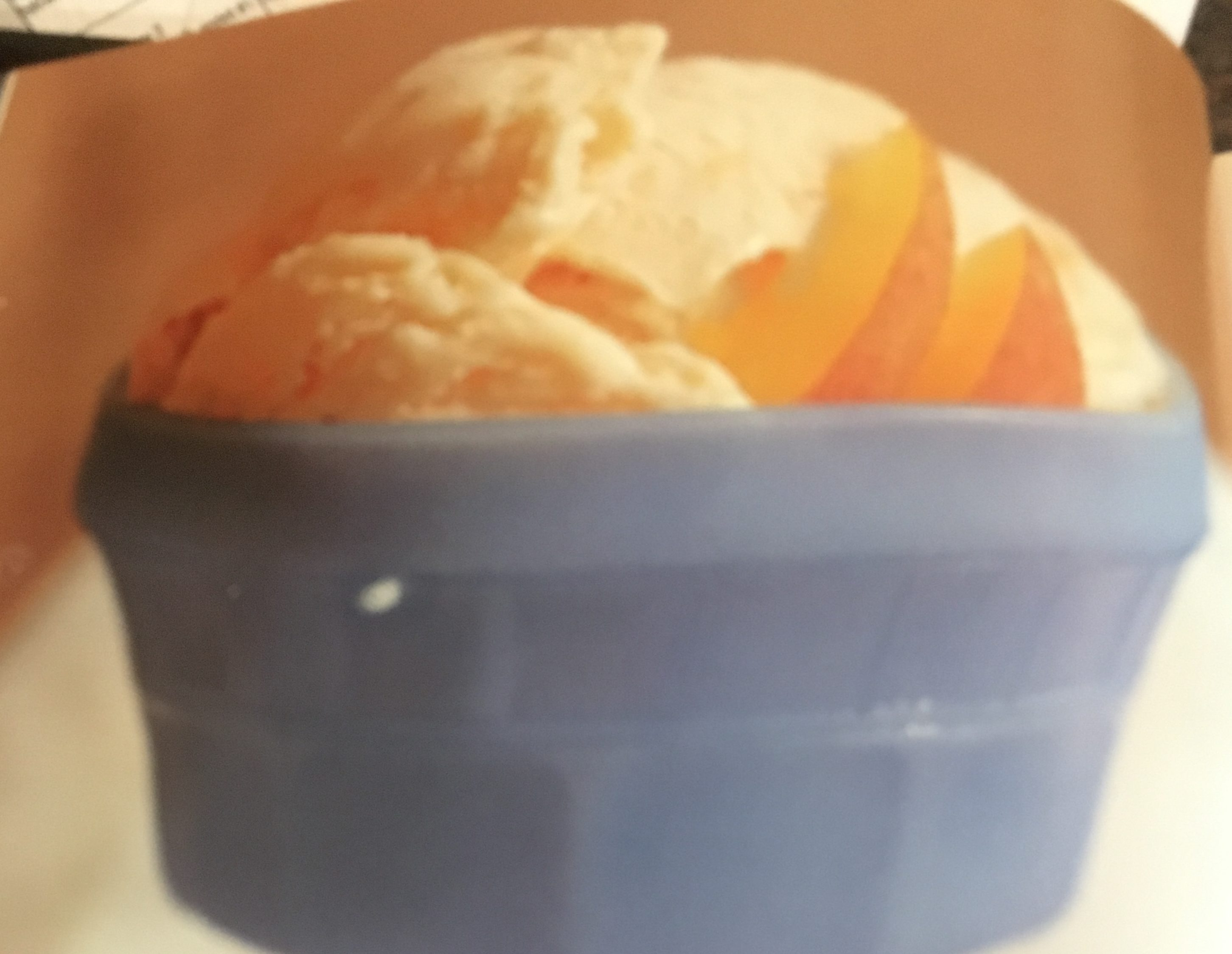 Country Peach Ice Cream
